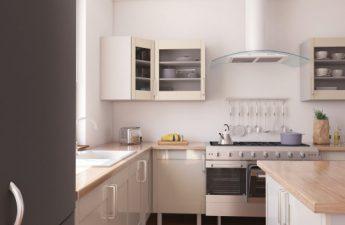 nyt køkken i lejligheden