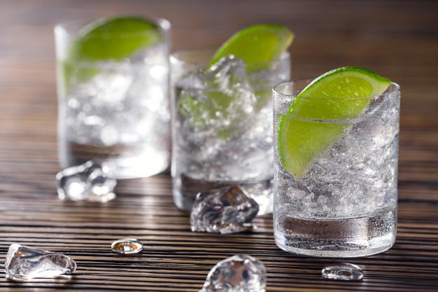 gin med lime