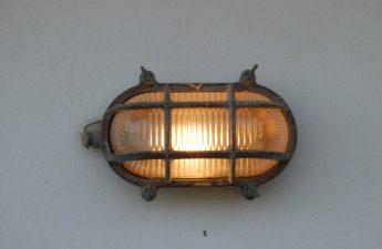 væglampe udendørs