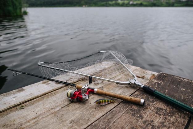 fiskeudstyr til fisketur